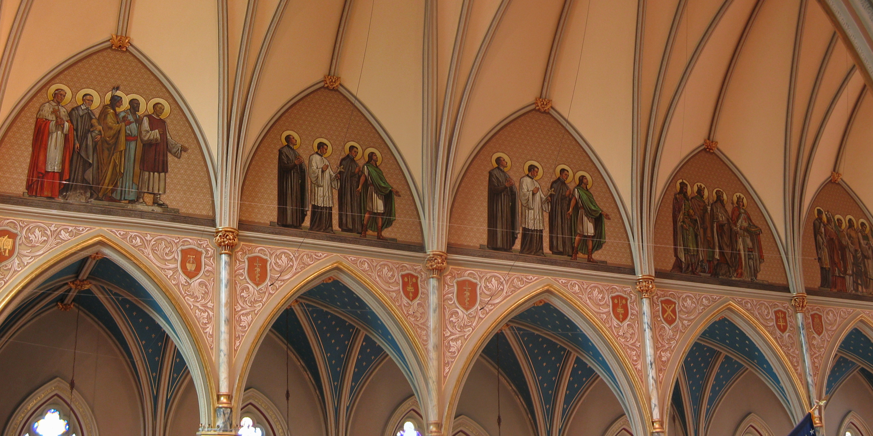 Special Features Cathedral Of St John The Baptist